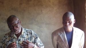 Elder Davya and Pastor Mbendera