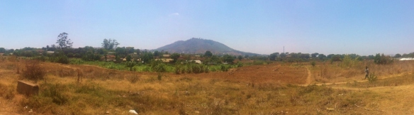 One of the many hills surrounding Blantyre